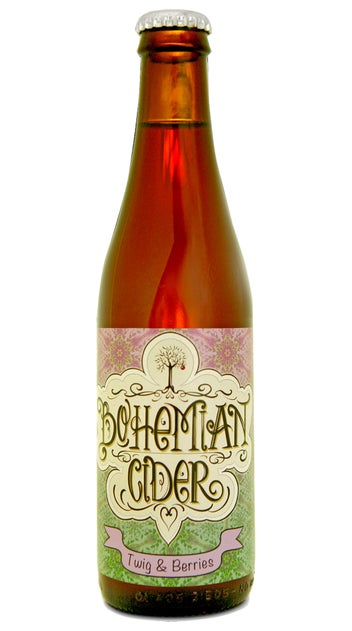 Bohemian Cider Twig and Berries 500ml bottle