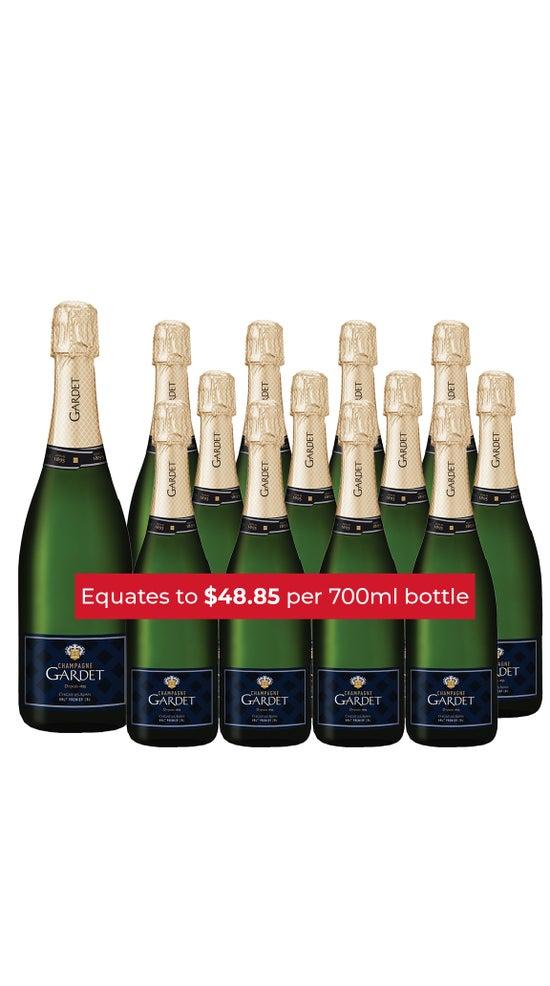Champagne Gardet Brut Premier Cru Dozen + Magnum