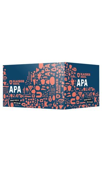 Kaiser Bros Beer APA 330ml 6pk cans