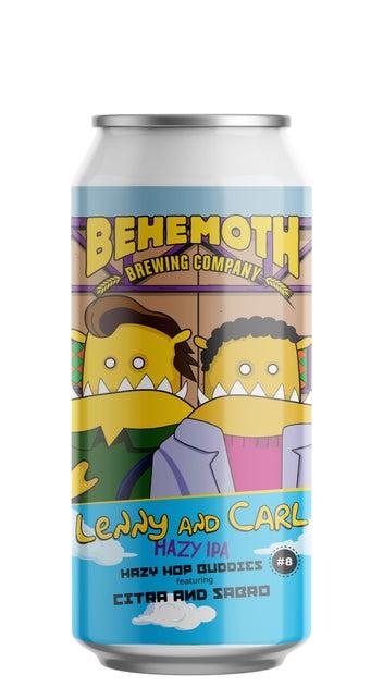 BEHEMOTH Hop Buddies #8 Lenny & Carl 440ml can