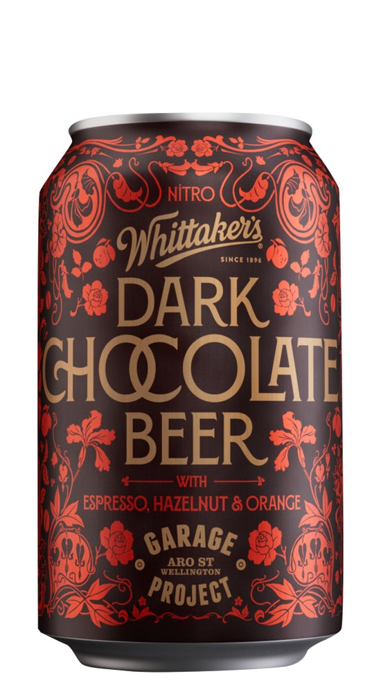 Garage Project x Whittakers Dark Chocolate Beer