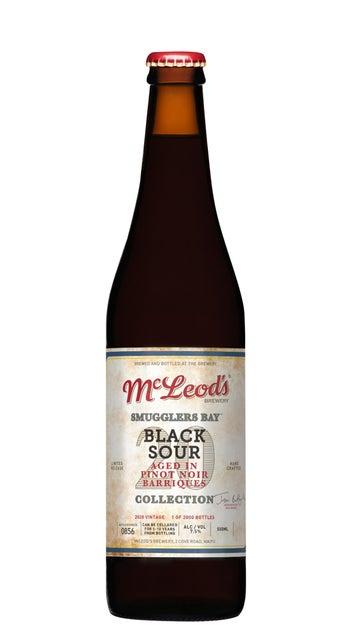McLeod's Smugglers Bay Black Sour 2020 500ml bottle