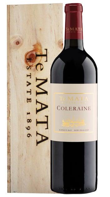 2018 Te Mata Estate Coleraine Wooden Giftbox