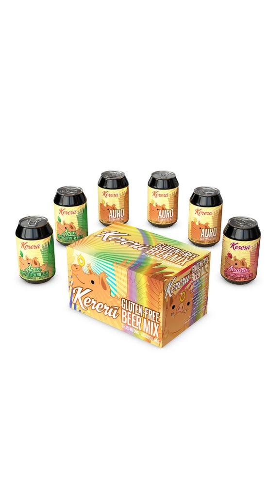 Kereru Gluten-Free Mixed 6 Pack 330ml Can
