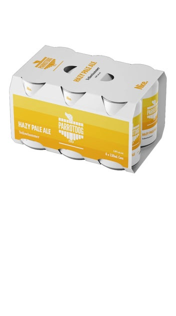 Parrotdog Yellowhammer Hazy Pale Ale 6 pack 330ml cans