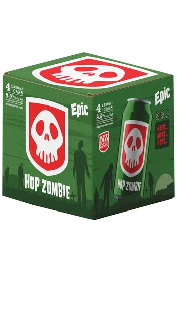 2020 Epic Hop Zombie 4 pack 330ml can