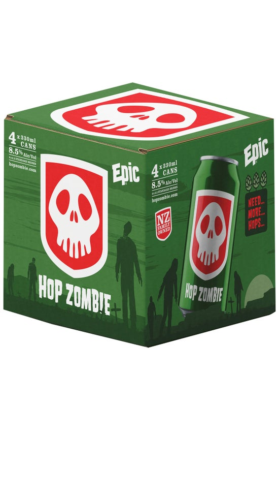 Epic Hop Zombie 4 pack 330ml can