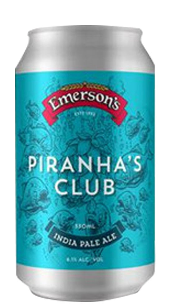 Emerson's Piranha's Club IPA 330ml can