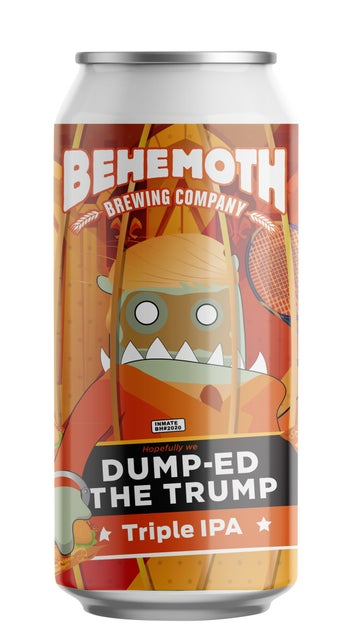 Behemoth Dump-ed The Trump Triple IPA 440ml can