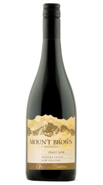 2019 Mount Brown Estates Grand Reserve Pinot Noir