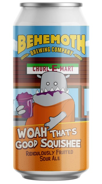 Behemoth 'Woah That's Good Squishee' Imperial Sour Ale 440ml can