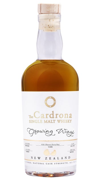 Cardrona Growing Wings 5yr Single Cask Oloroso 375ml