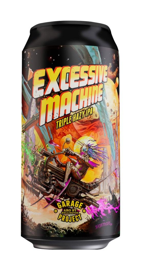 Garage Project Excessive Machine Triple Hazy IPA 440ml can