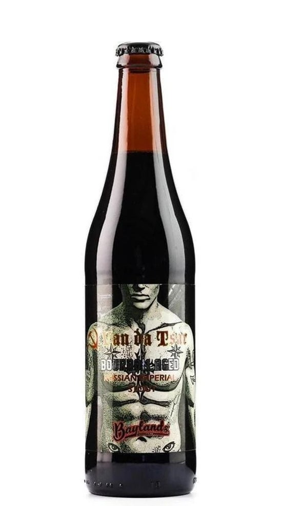 Baylands Van da Tsar Imperial Stout 500ml bottle