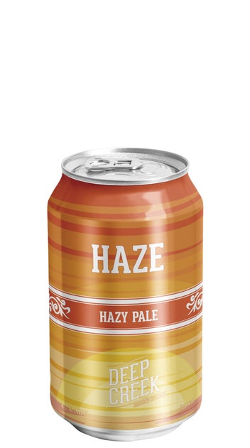 Deep Creek Haze Hazy Pale Ale 330ml can