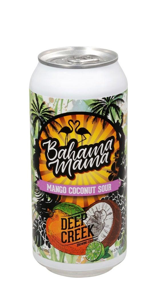 Deep Creek Bahama Mama Mango Coconut Sour 440ml can
