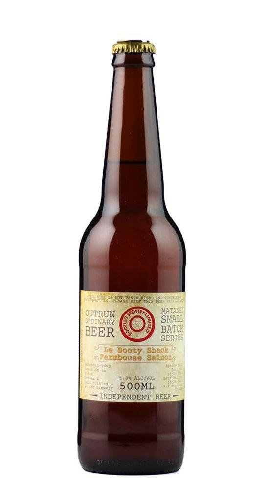 Bootleg Brewery Le Booty Shack Farmhouse Saison 500ml bottle