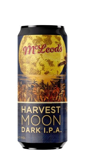 McLeod's Harvest Moon Dark IPA 440ml can