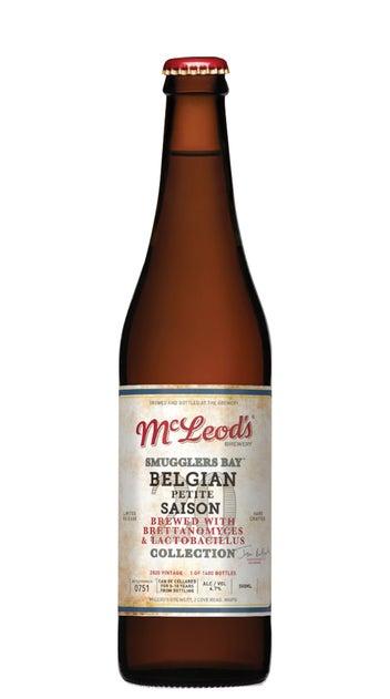 2020 McLeod's Smugglers Bay Petite Saison 500ml bottle