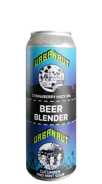 Urbanaut Strawberry, Mint and Cucumber beer blender