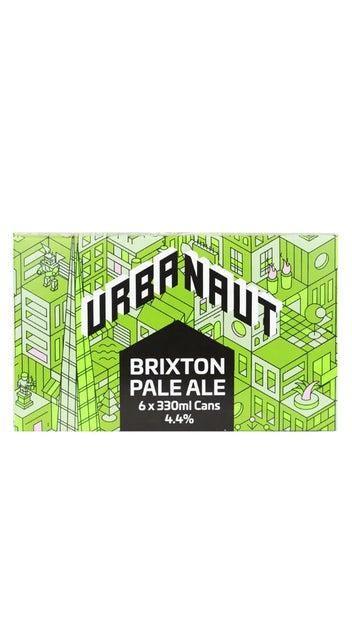 Urbanaut Brixton Pale ale 6pk 330ml cans