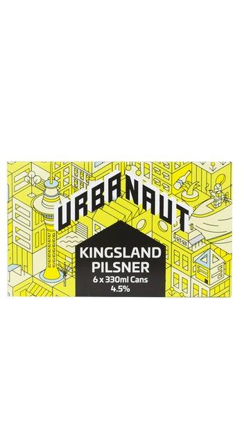 Urbanaut Kingsland Pilsner 6-pack 330ml cans