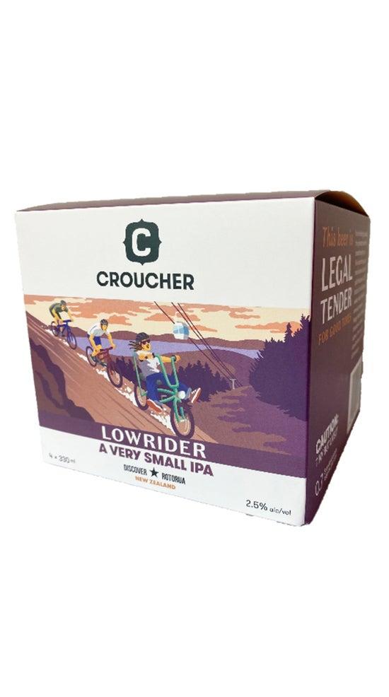 Croucher Lowrider 4pk 330ml cans