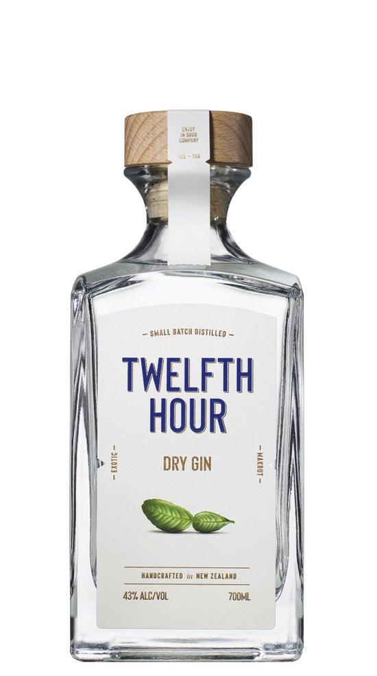 Twelfth Hour Dry Gin 700ml bottle