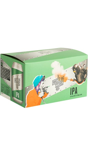 Whistling Sisters Can IPA 6 Pack