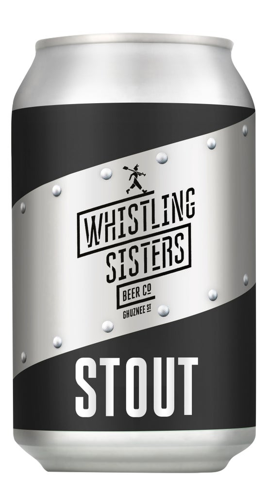 Whistling Sisters Stout 330ml can
