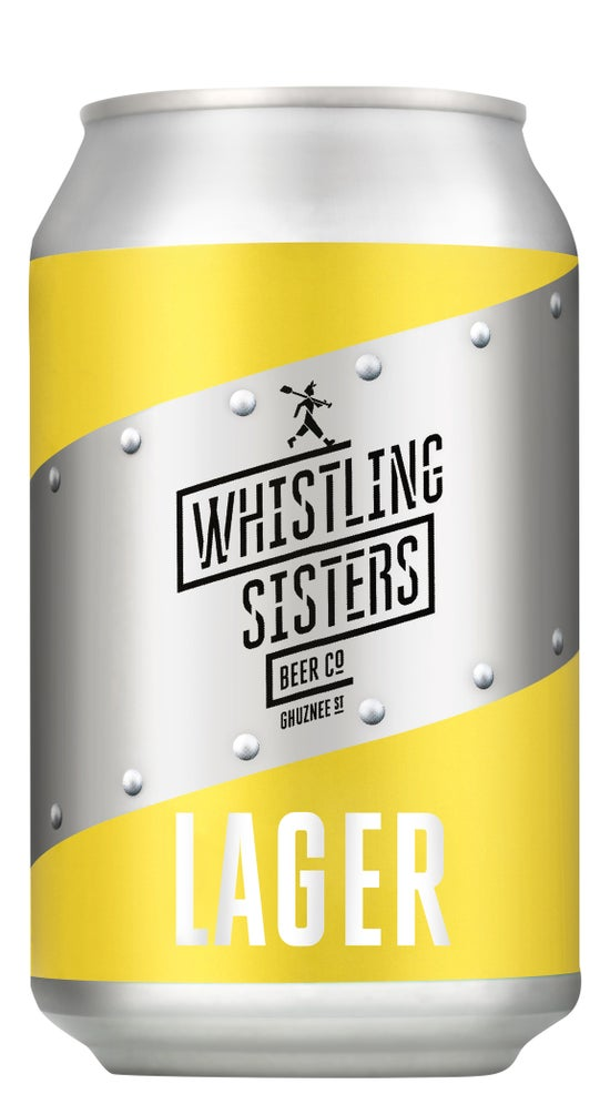 Whistling Sisters Lager Can 330ml can