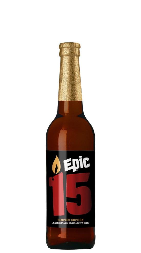 Epic 15 Barley Wine 500ml bottle