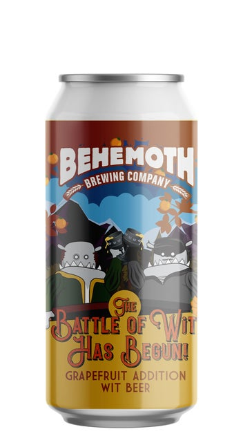 Behemoth The Battle of the Wits - Grapefruit Edition 440ml can