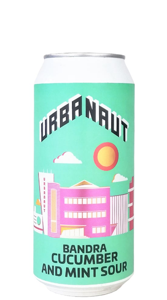 Urbanaut Bandra Cucumber and Mint sour 440ml can