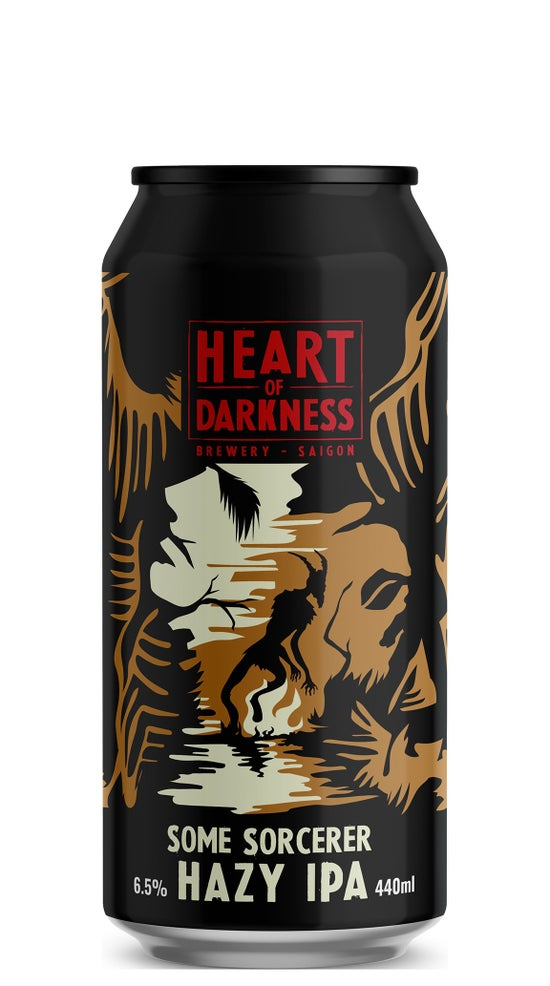 Heart of Darkness Some Sorcerer Hazy IPA 440ml can