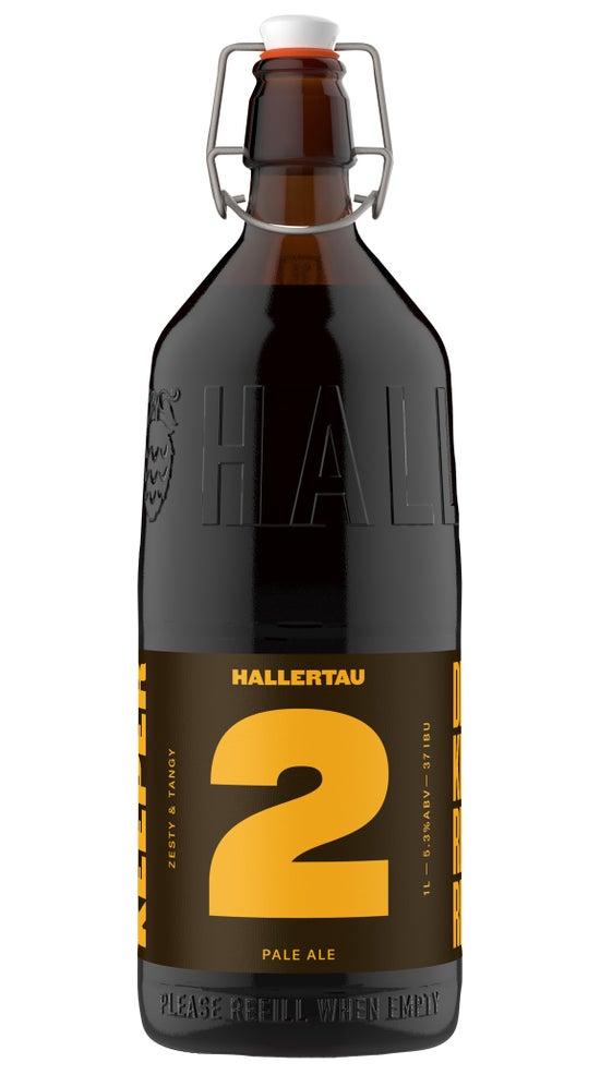 Hallertau the Keeper #2 Statesman Pale Ale 1 Litre Resuable Bottle