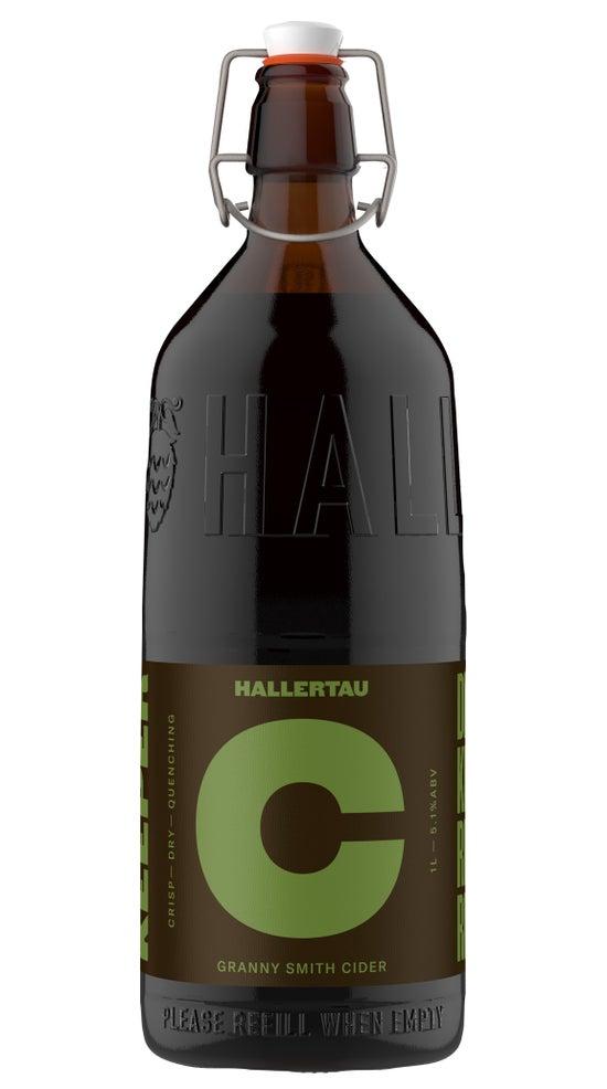 Hallertau The Keeper Cider 1 litre bottle
