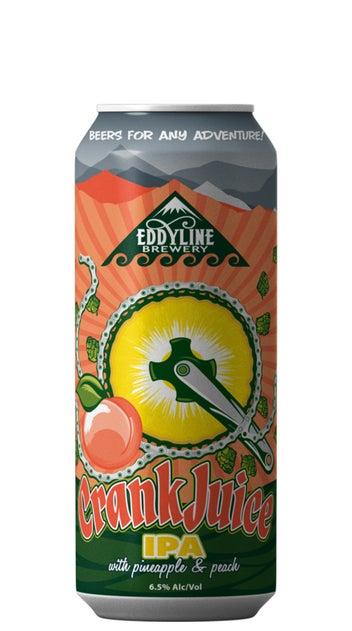 2021 Eddyline Crank Juice NE IPA 440ml