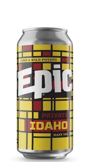 Epic Private Idaho Hazy IPA 440ml can