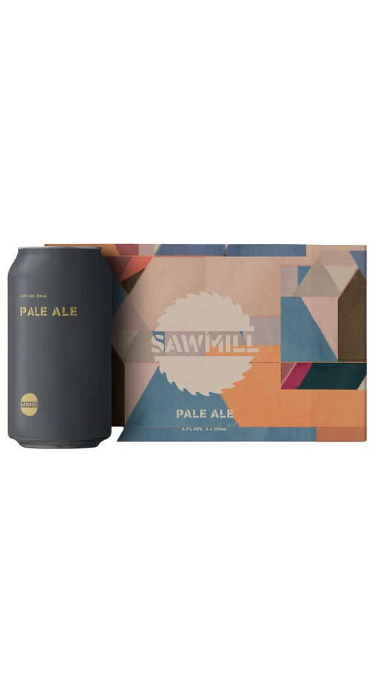 Sawmill Pale Ale 6 pack 330ml cans