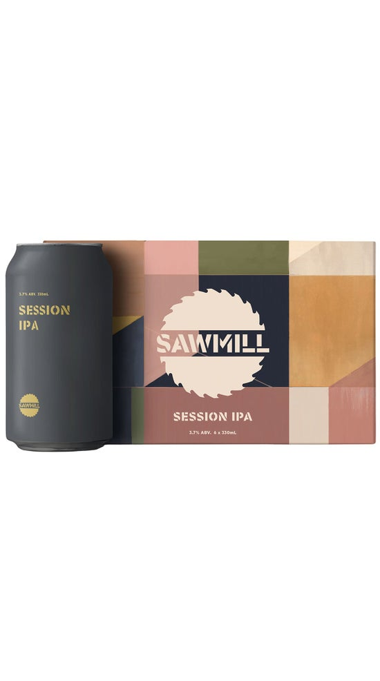 Sawmill Session IPA 6pk 330ml cans