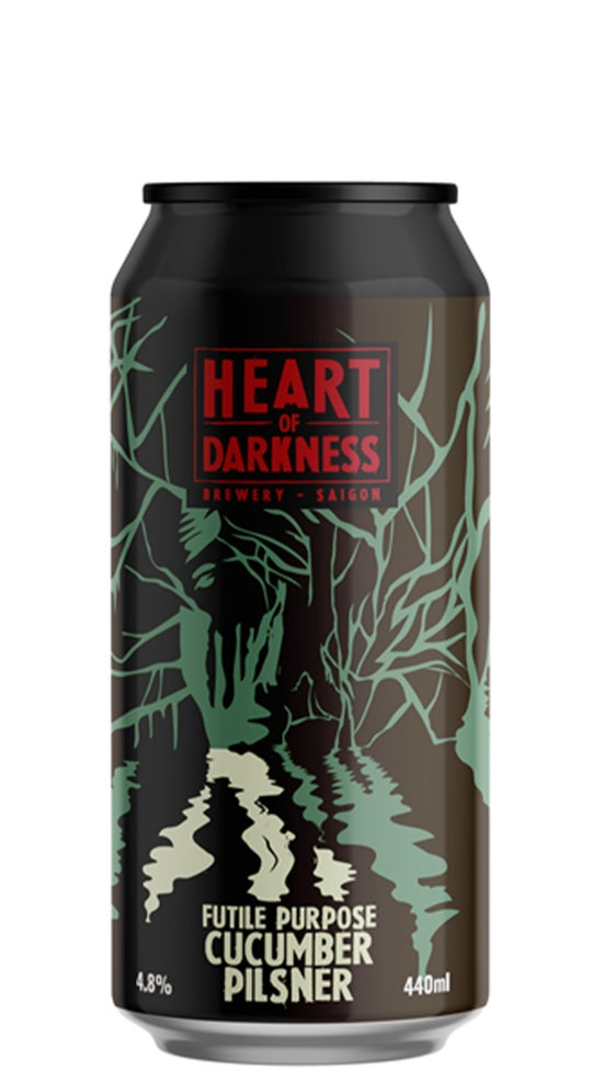 Heart of Darkness Futile Purpose Cucumber Pilsner 440ml can