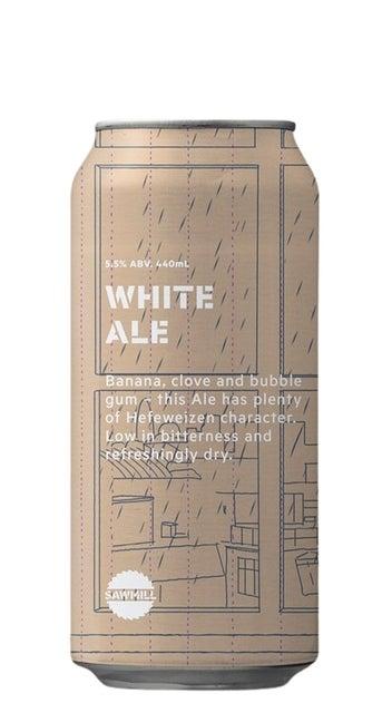 2021 Sawmill White Ale 440ml can