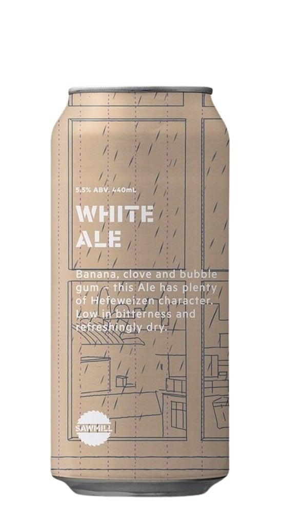 Sawmill White Ale 440ml can