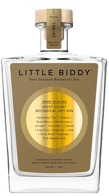 Little Biddy Gin Gold Label 43% 6x 700ml