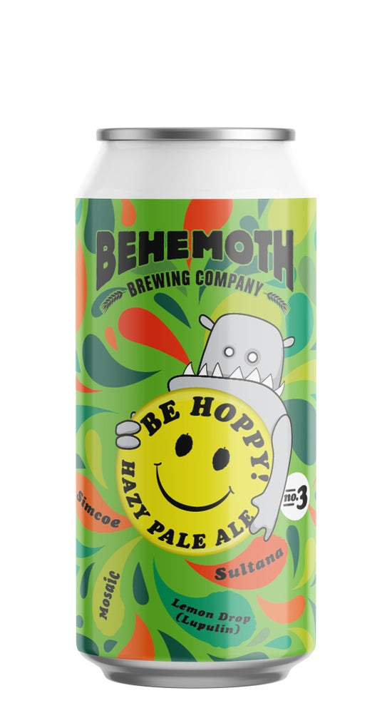 Behemoth Be Hoppy #3 440ml can