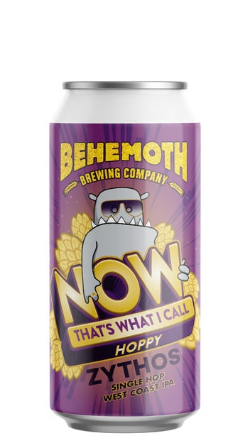 Behemoth Now That's What I Call Hoppy Vol 1 - Zythos 440ml can