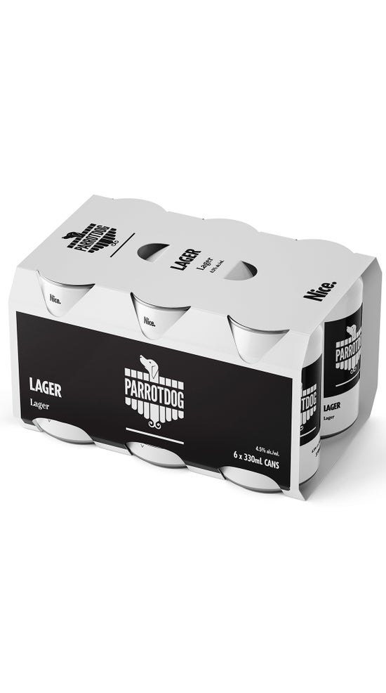 Parrotdog Lager 6 pack 330ml cans