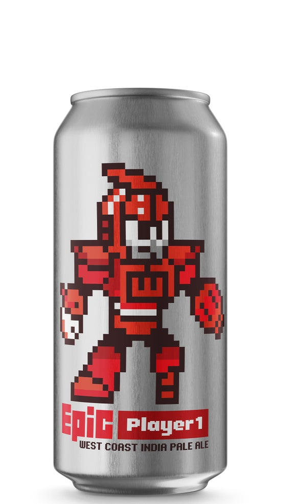 Epic Player 1 West Coast IPA 440ml can