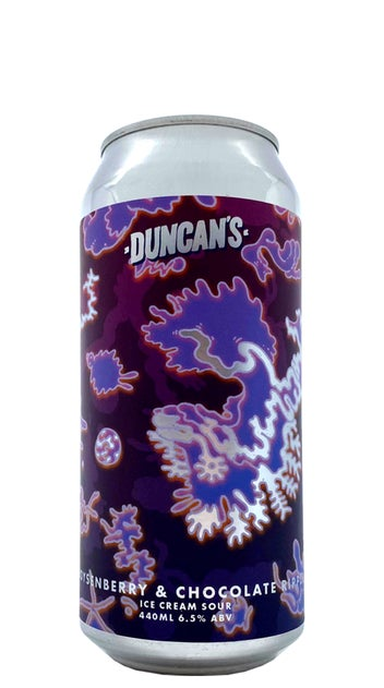 Duncans Boysenberry & Chocolate Ripple 440ml can
